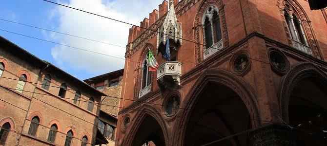 Bologne, ville étape