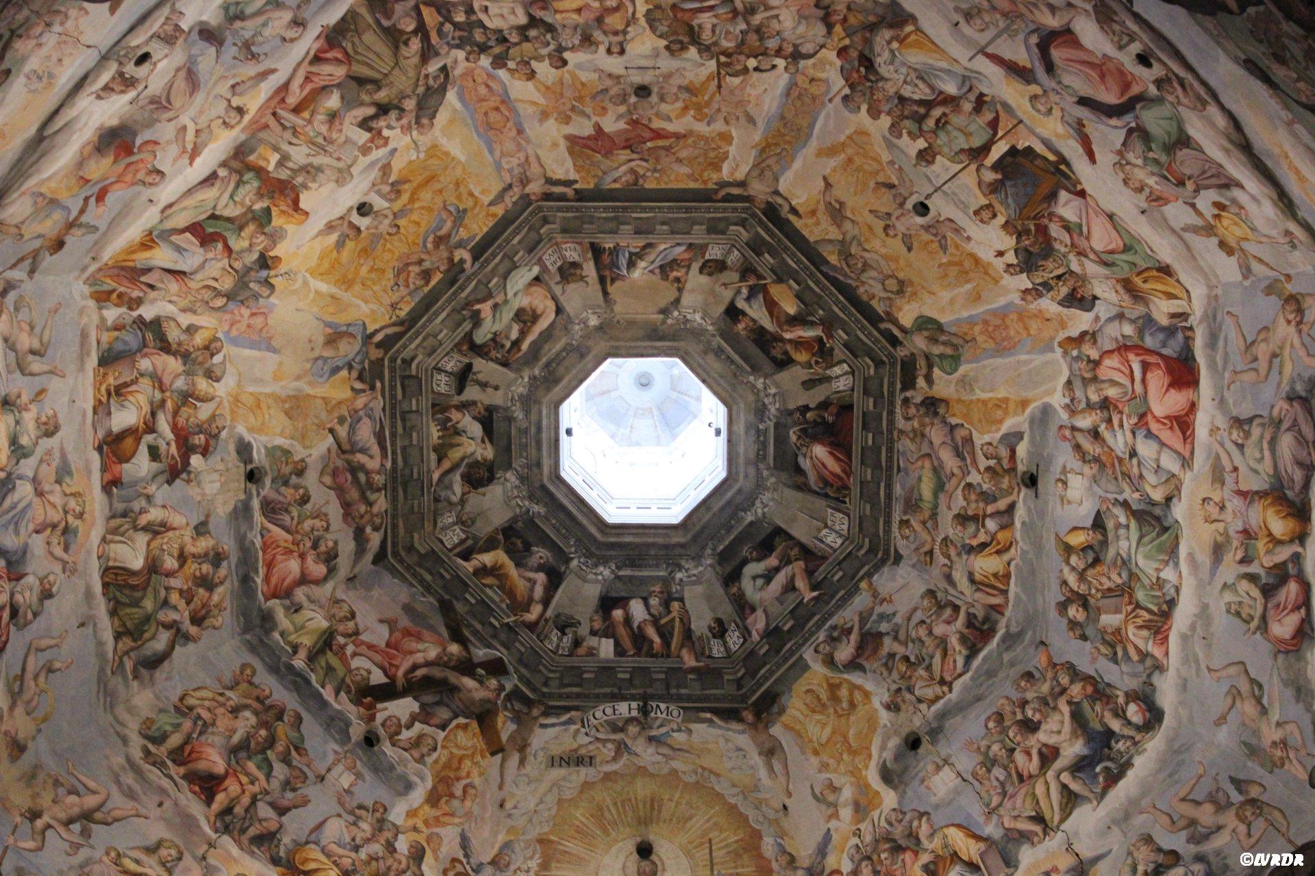 Le plafond de la Cathédrale Sante Maria
