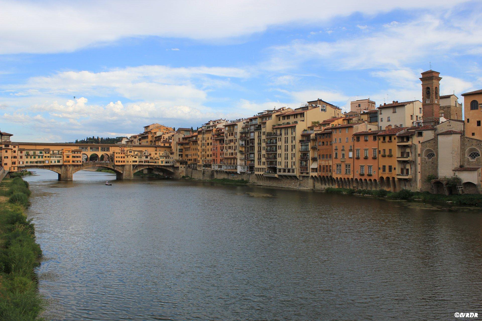 Le pont Vecchio à Florence