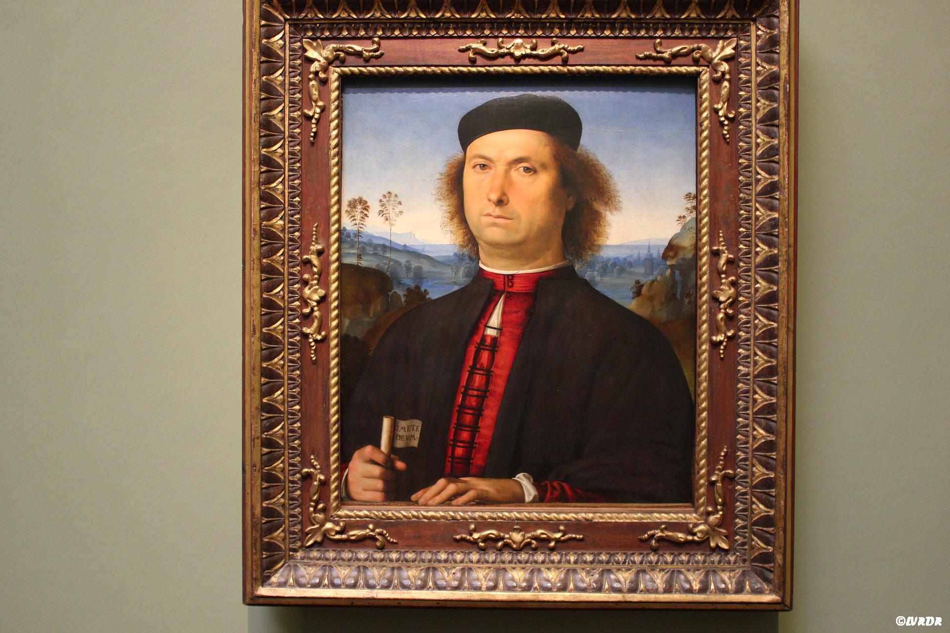 Portrait à la Galleria degli Uffizi à Florence