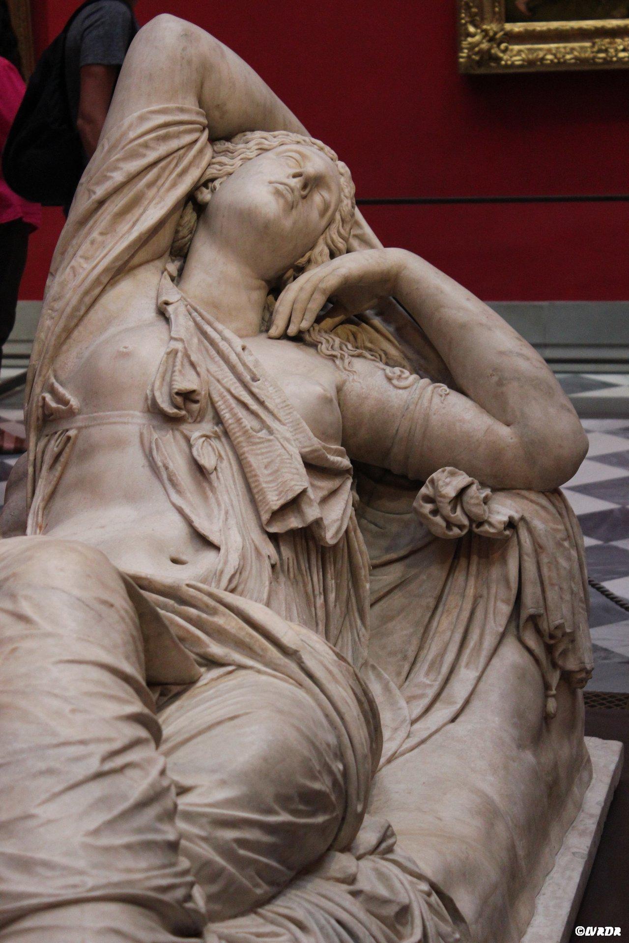 Sculture à la Galleria degli Uffizi à Florence