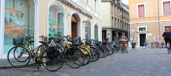 Ravenne, ville de vélo!
