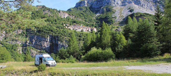 Casso, tout à côté des Dolomites de Belluno