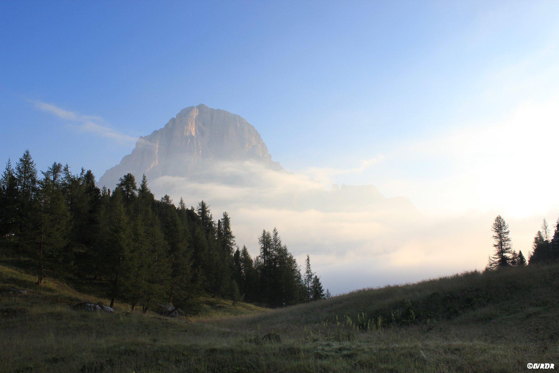 Lumière aux Dolomites