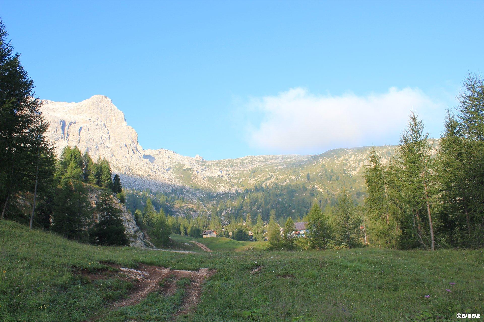 Paysage des Dolomites