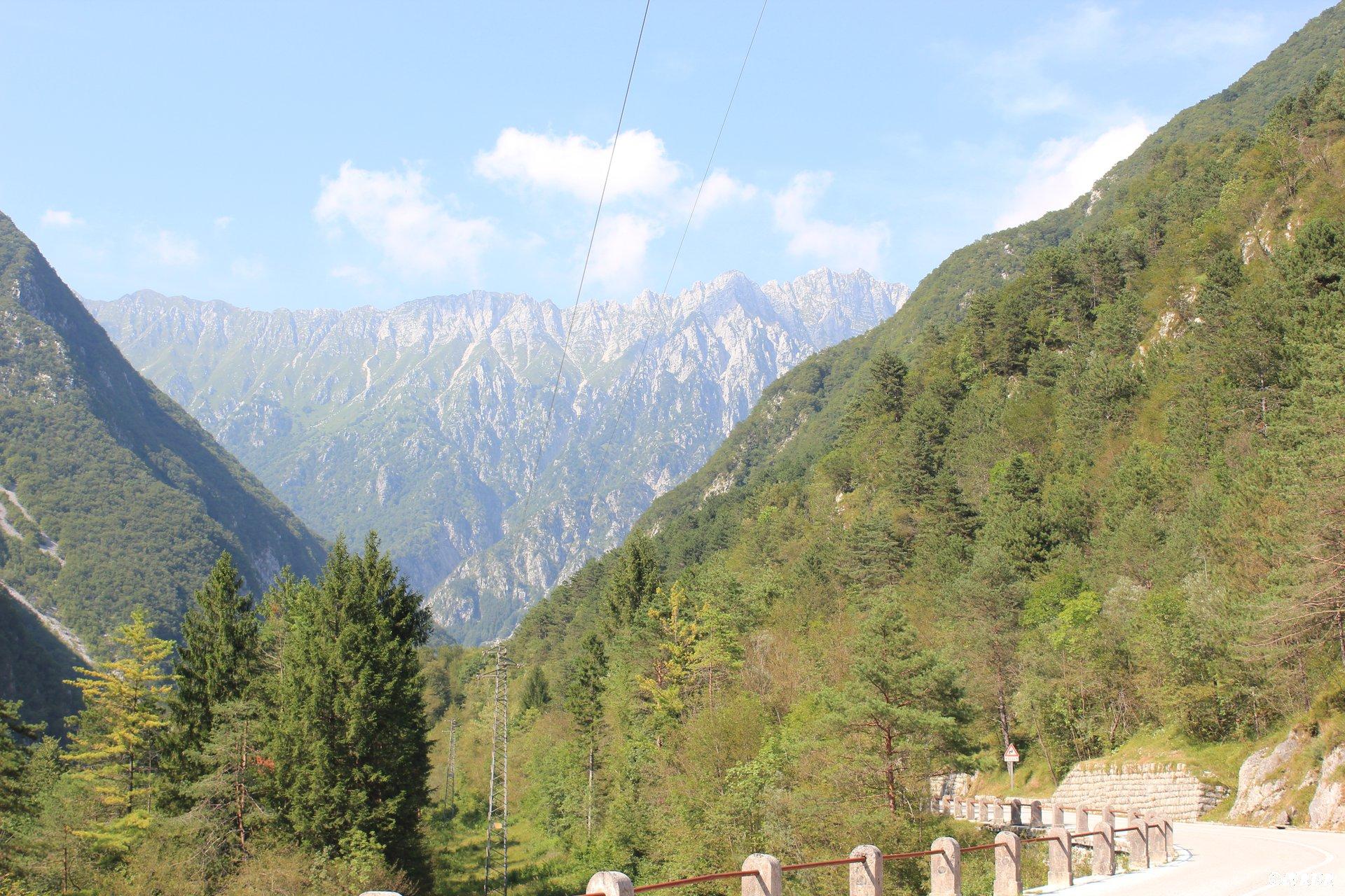 Frontière Italie Slovénie
