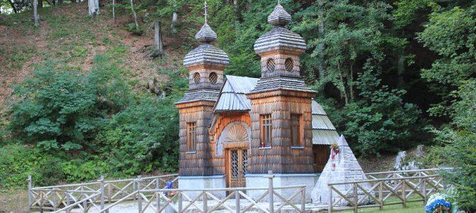 La route russe, la chapelle Saint-Vladimir