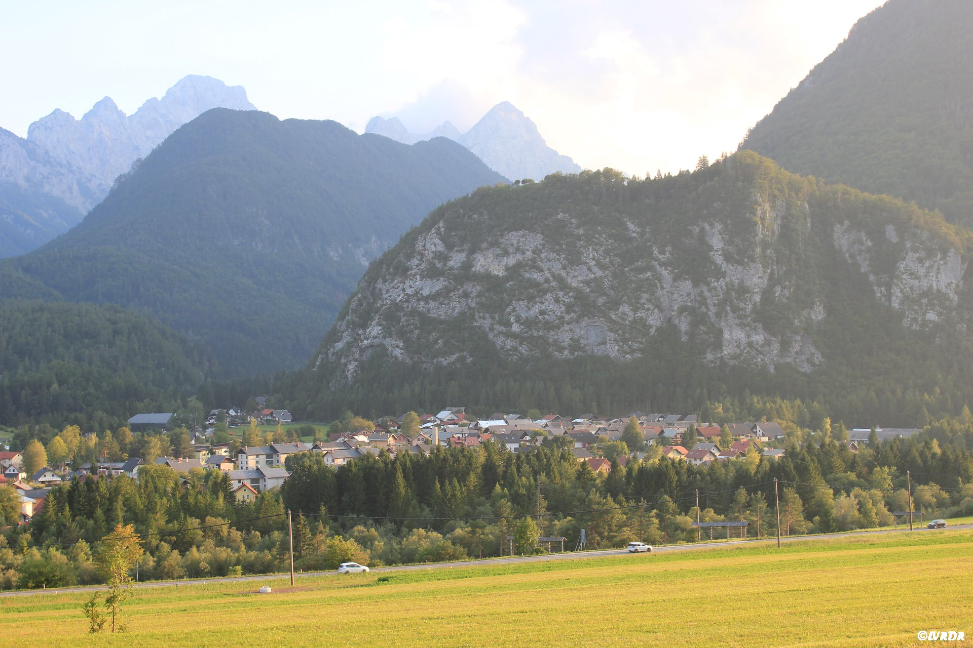 Vue sur Mojstrana