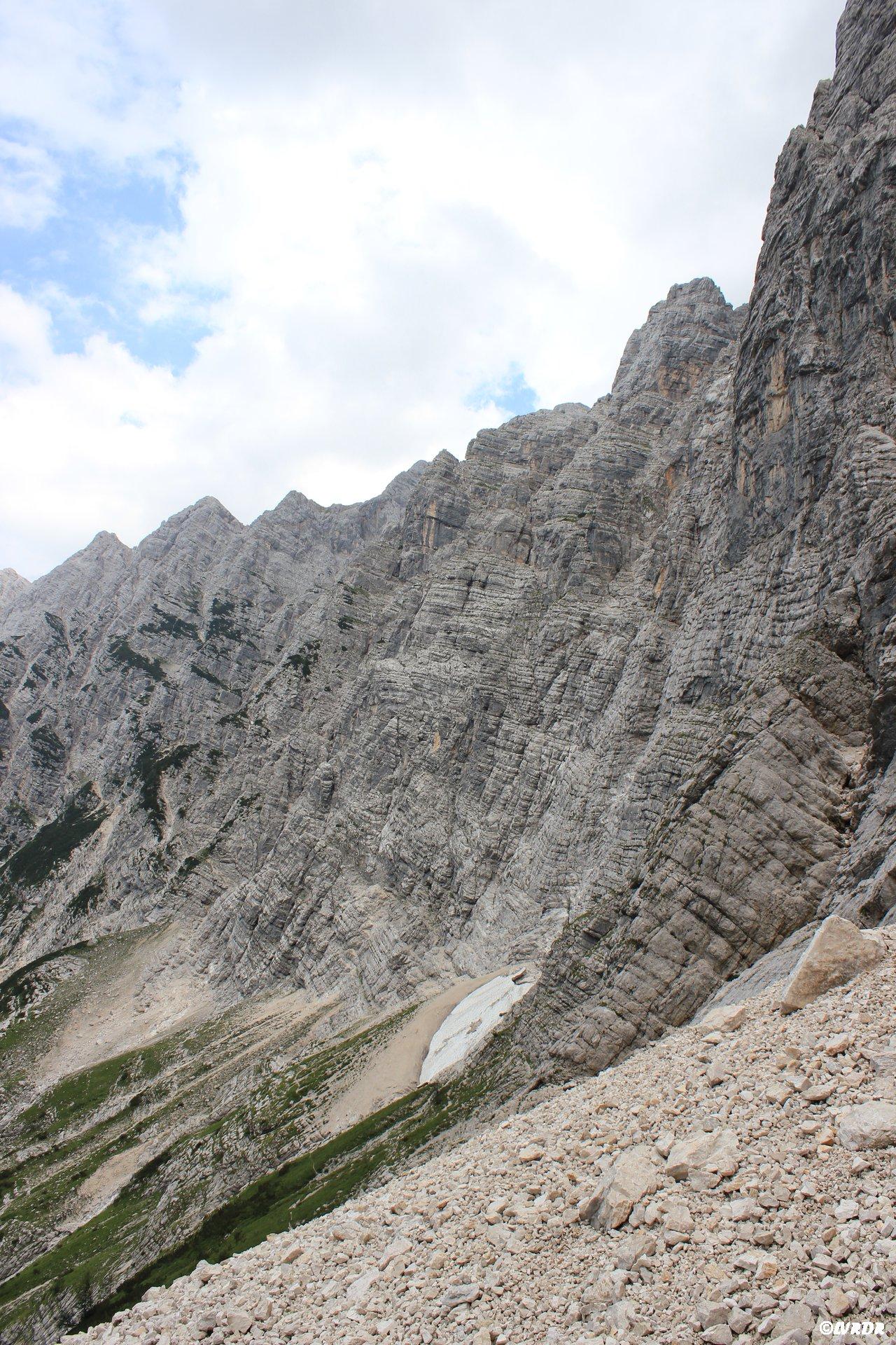 Face nord du Triglav