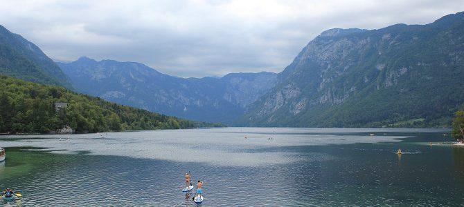 Deux lacs: Bled et Bohinj