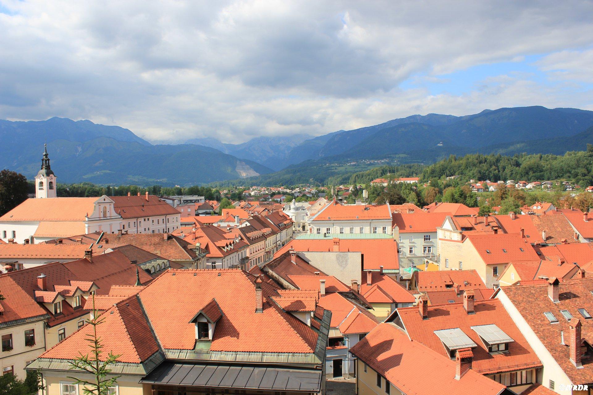 Les toits de Kamnik
