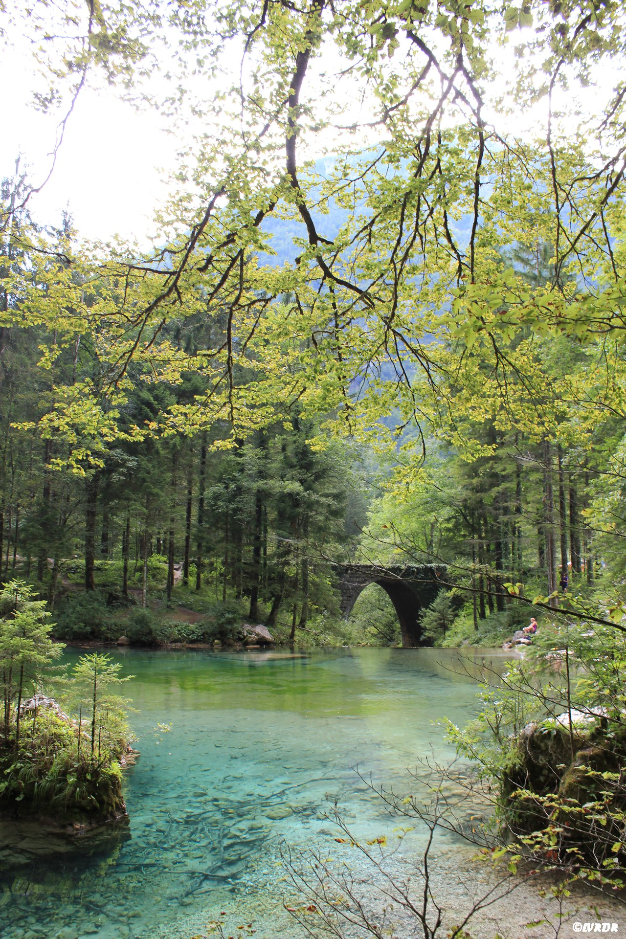 Un lac à Kamnik