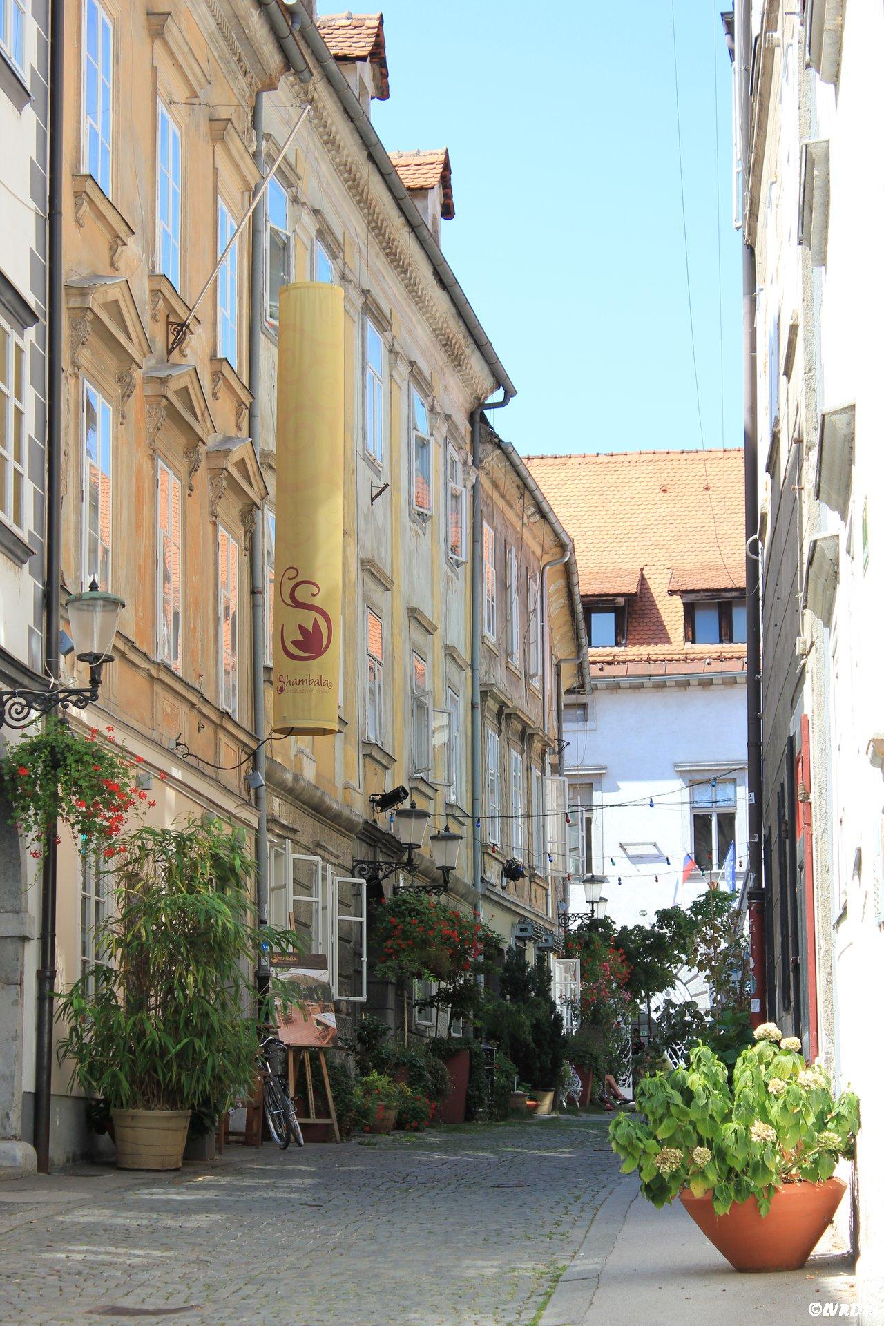 Ljubljana rue Križevniška