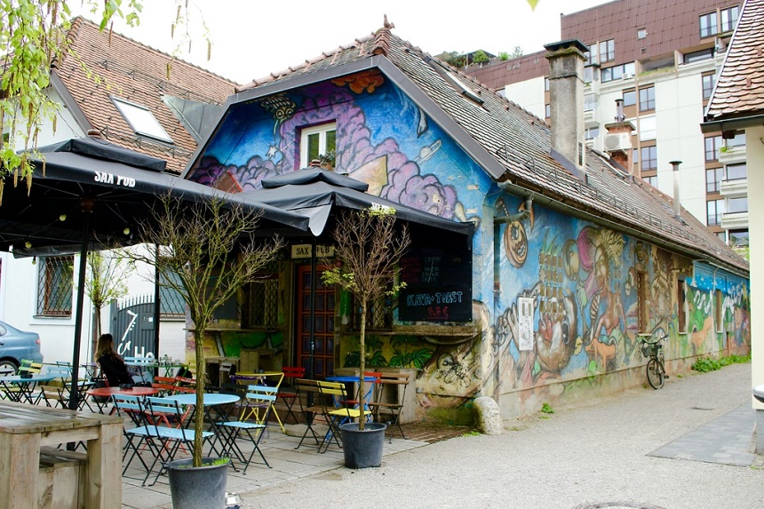 Le Sax Pub à Ljubljana